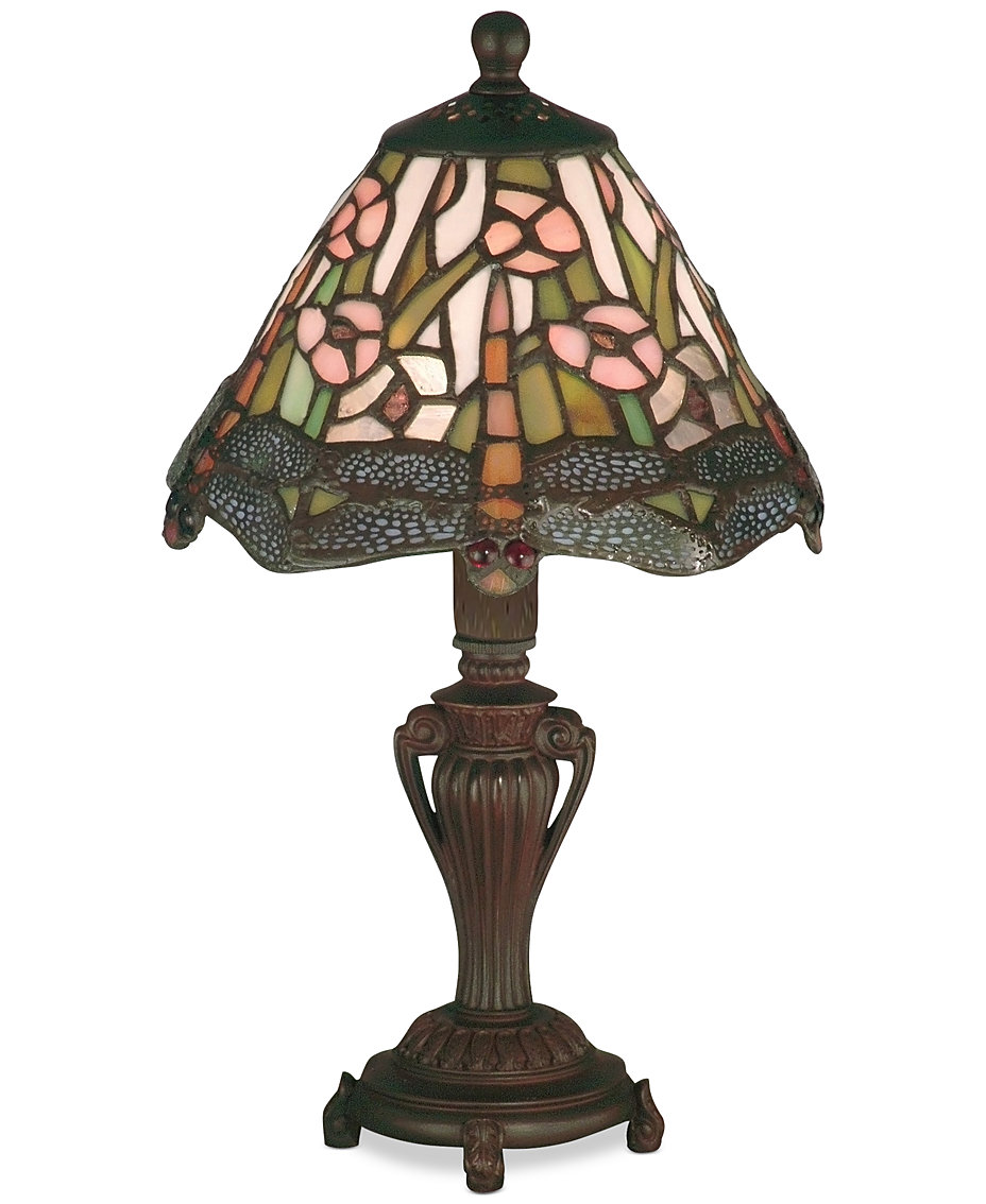 tiffany table lamp lighting lamps macy fpx accent dale dragonfly walnut bedside wooden legs west elm chair nautical ture frames small farmhouse decorative chairs adjustable drum