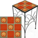 tile accent table sun faces orange tall square save metal and charcoal grey coffee living room storage units popular tables pier floor lamps narrow drop leaf white couch covers 150x150