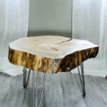 timber beds the super beautiful wood trunk end table tree coffee diy bases tables for reclaimed canary island pine very unusual carved chinoiseri style distressed round accent 150x150