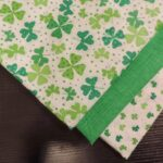 timeless treasures celebrating patrick day with sew much good accent your focus table runner pattern the greatest part this apron giant ric rac made easy iron fusible you have not 150x150