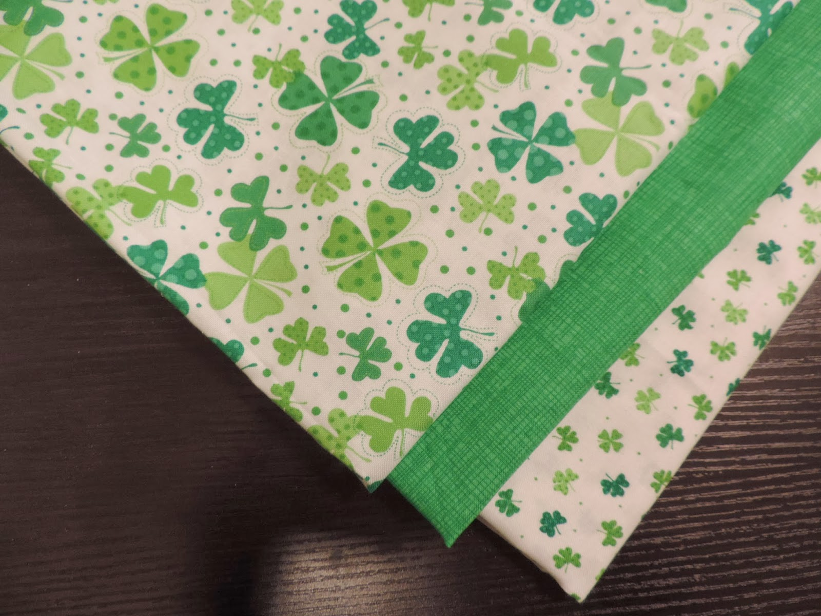 timeless treasures celebrating patrick day with sew much good accent your focus table runner pattern the greatest part this apron giant ric rac made easy iron fusible you have not