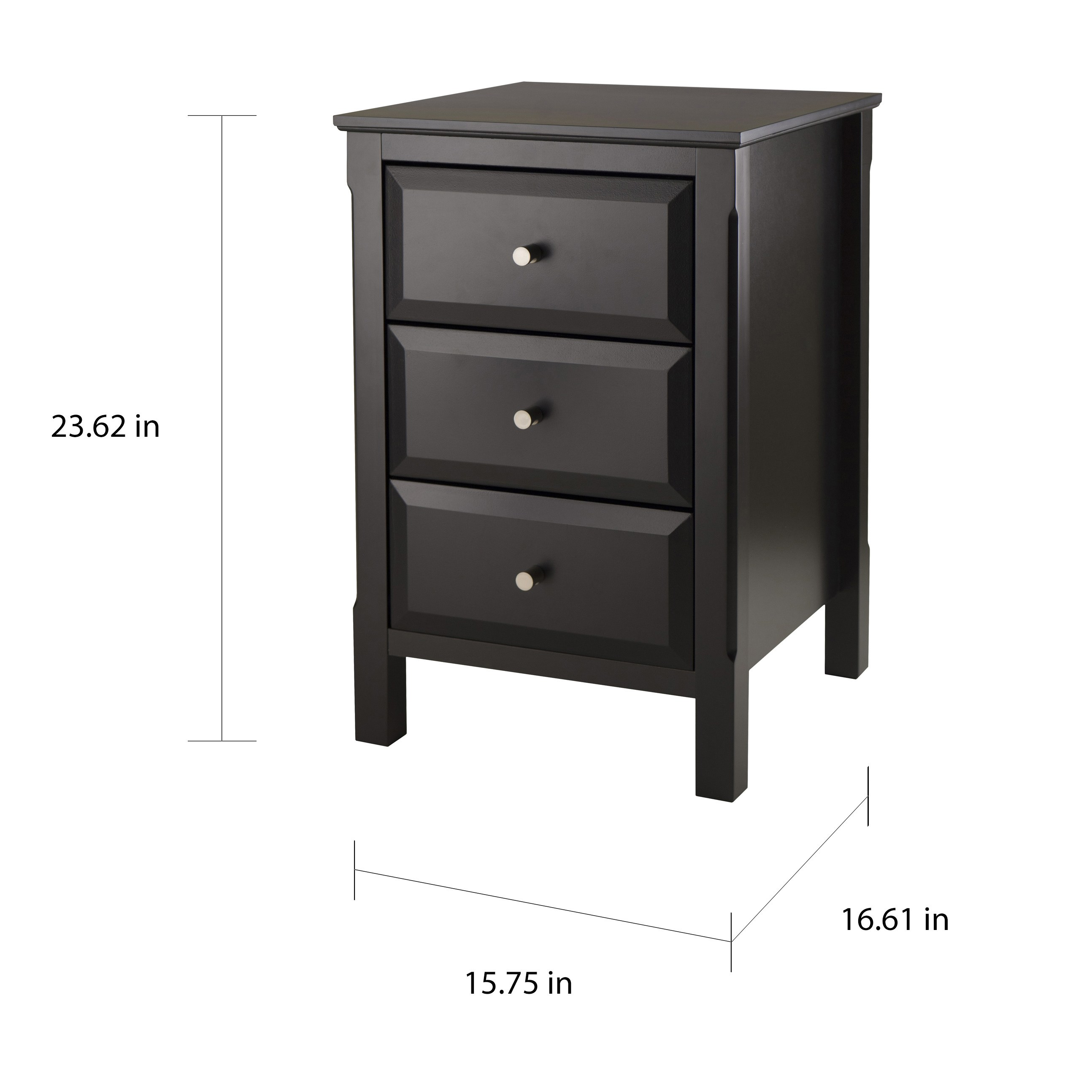 timmy black night stand and end table free shipping today accent white lamp garden dining side shades industrial couch memory foam rug bdi furniture patio chair covers rectangular