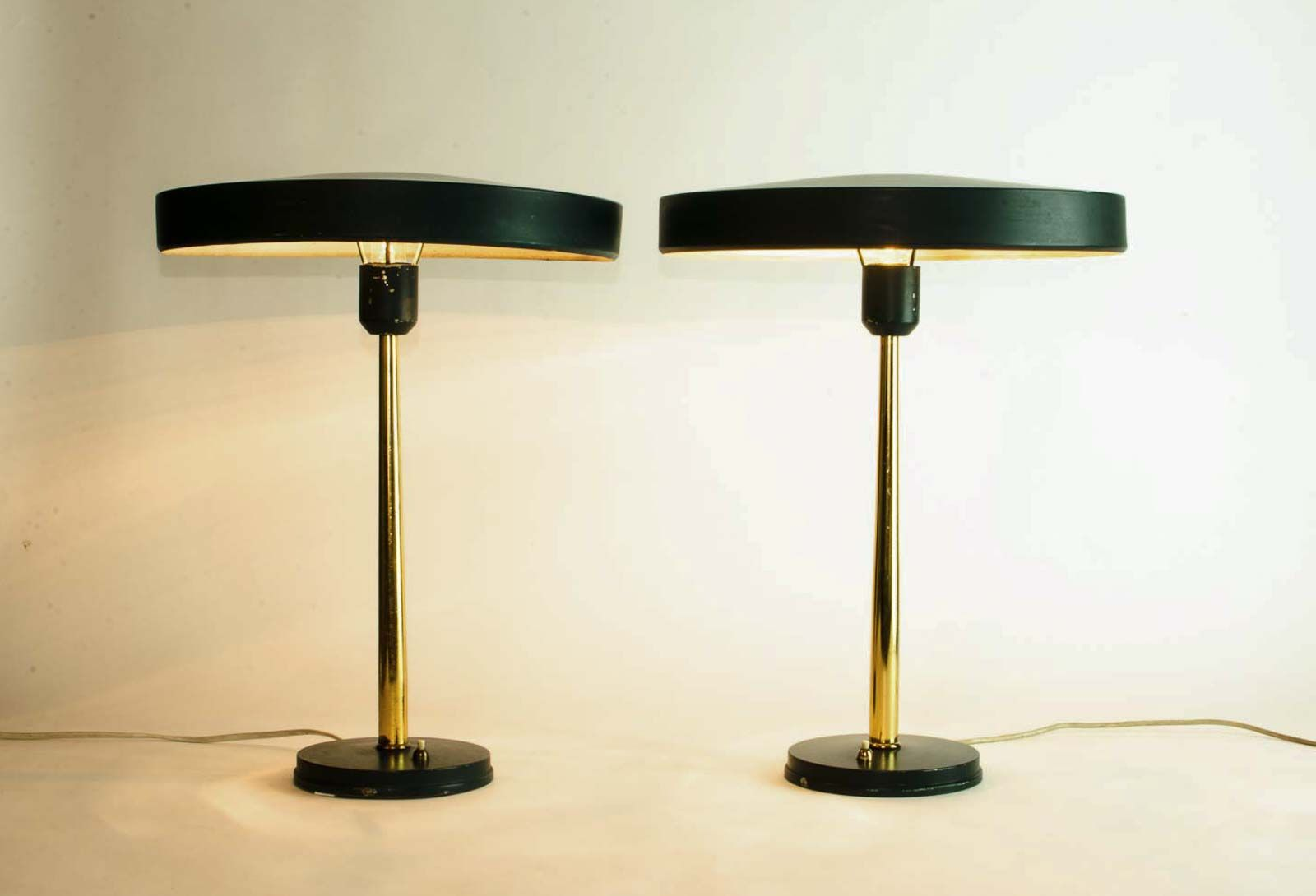 timor table lamp louis kalff for philips pamono wood trunk accent small short and metal dining trestle base tall pieces end with usb charger montrez gold marble top ashley