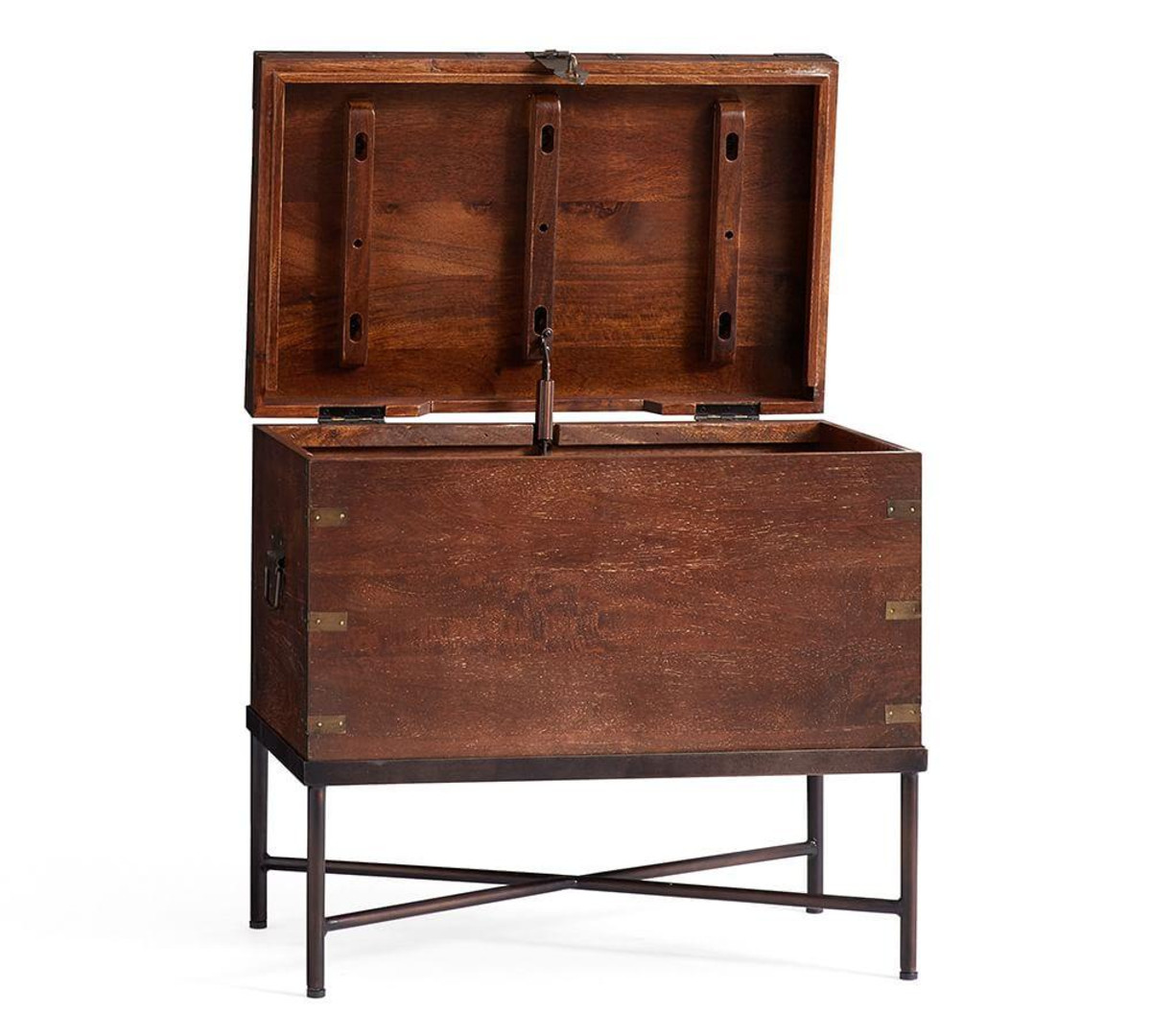 timor wood trunk accent table pottery barn media west elm coffee desk ikea accessories oriental lamp shade christmas tablecloth and runner contemporary home decor black oak door