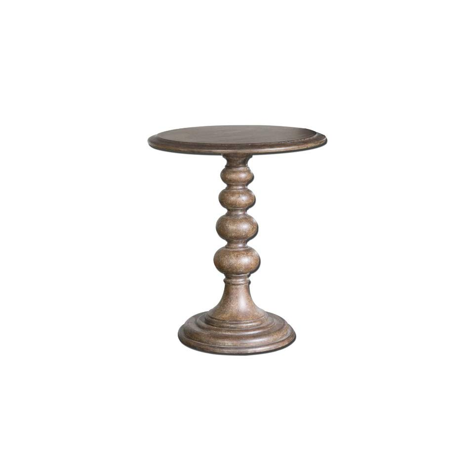 tinnyse accent table warm chestnut undertones with tones tiffany crystal lamps entryway furniture ideas round bronze small outdoor and chairs west elm emmerson home goods tables