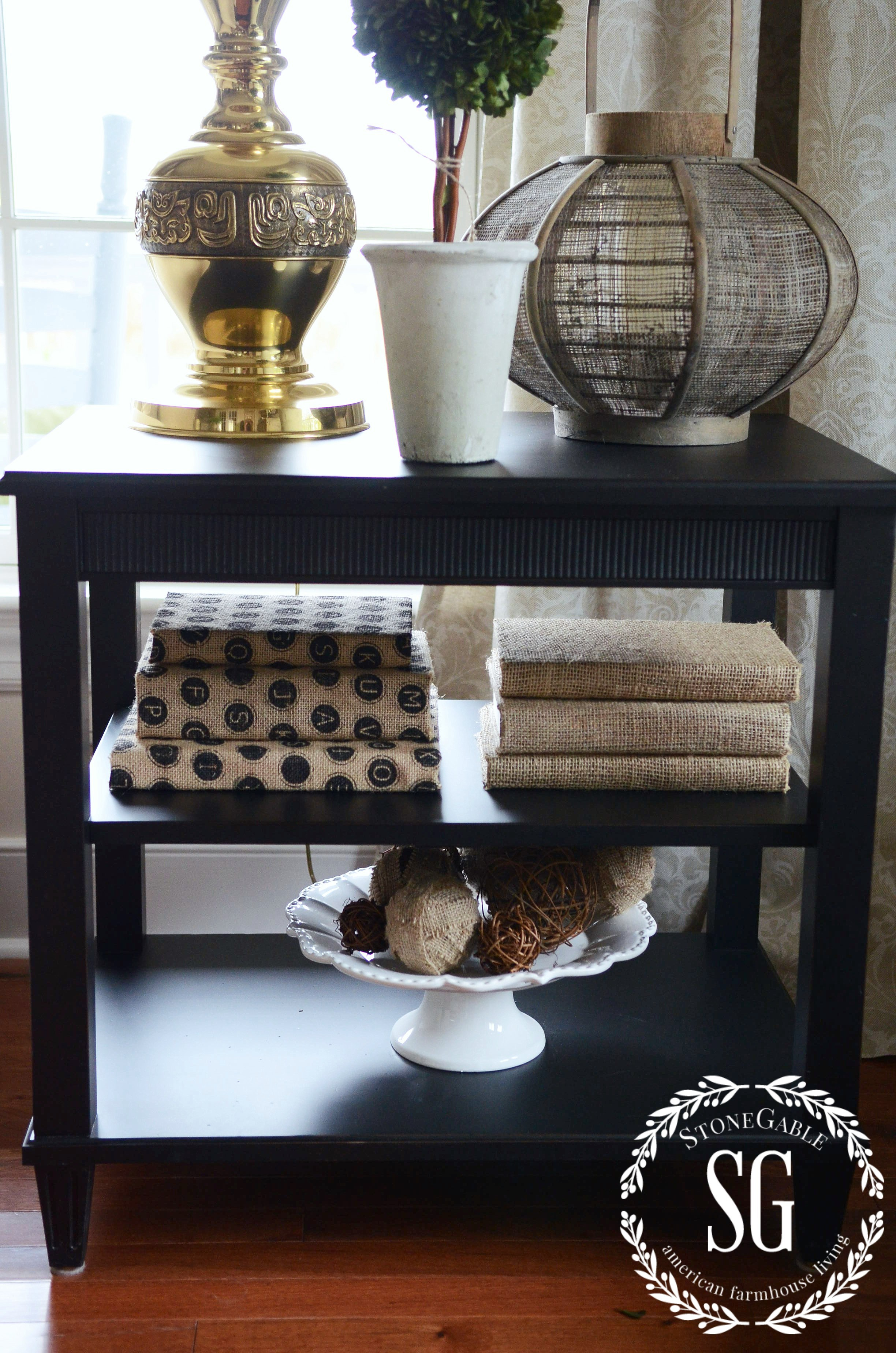 tips decorate accent table shelves like pro stonegable how under two stonegableblog end with shelf underneath small lamp ikea honby lobby coupon marble top side steve silver
