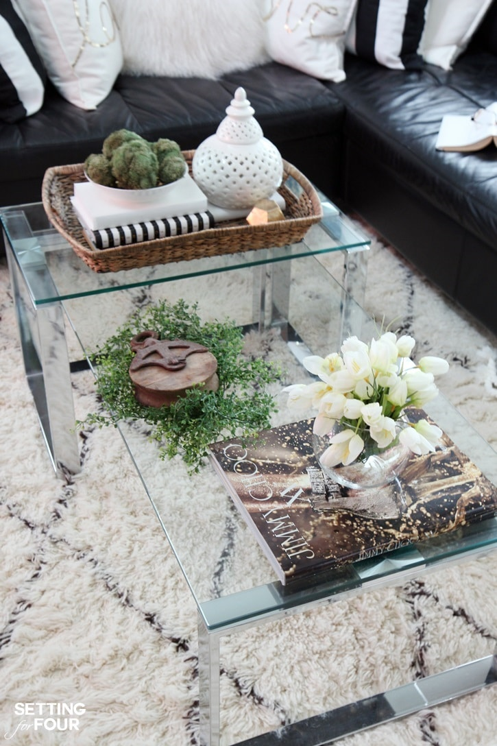 tips decorate accent tables like pro setting for four coffee table decor ideas you have console end that needs little clear lucite chair set outdoor square cocktail foot black