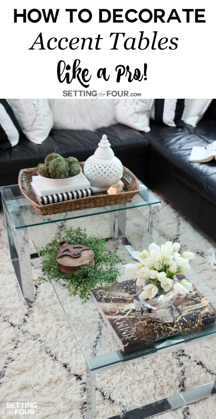 tips decorate accent tables like pro setting for four how coffee table pieces you have console end that needs little ikea narrow storage units battery operated lamp with timer