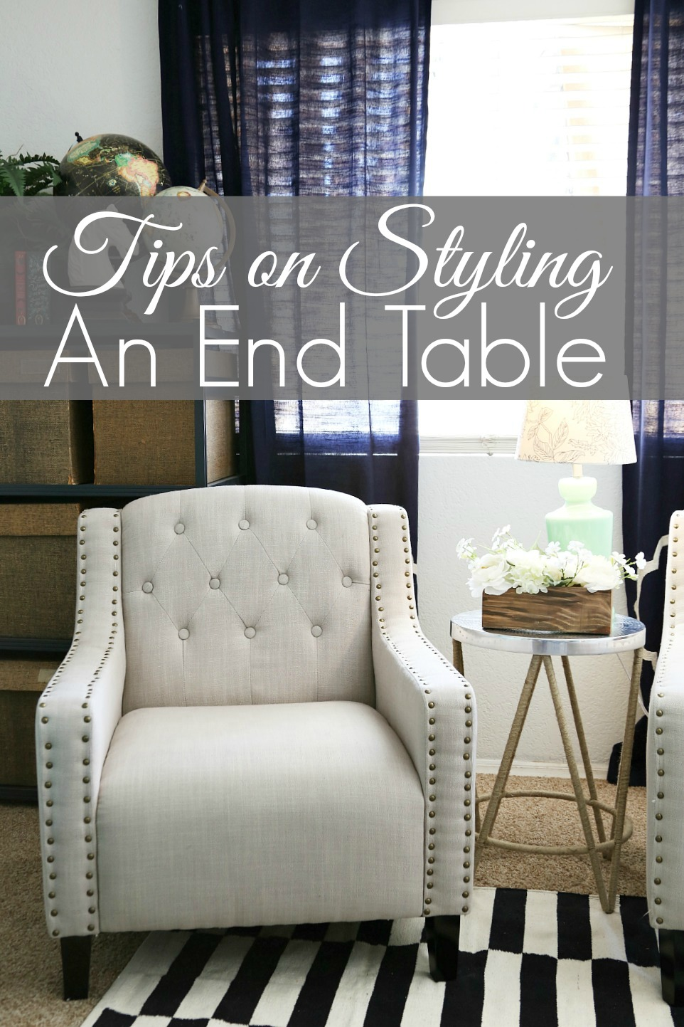 tips how style end table sitting area tier accent target pottery barn decor hand painted drawers tall narrow high top with stools rectangular patio umbrellas architect lamp pier