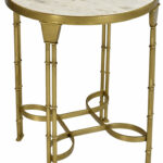 tipton tate hydra marble end table round accent jcpenney shower curtains coffee runner aluminum umbrella knotty pine desk small with folding sides glass for bedroom pedestal gold 150x150