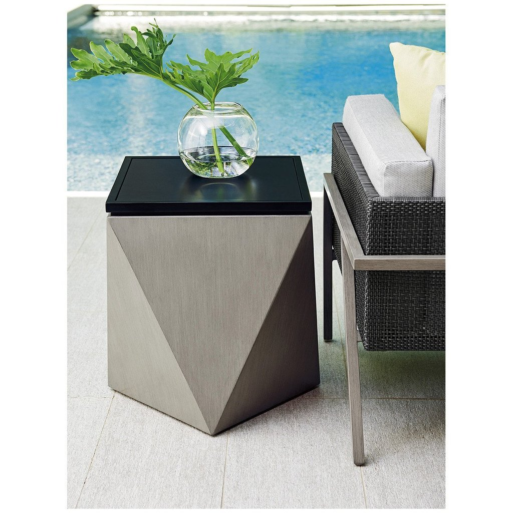 tommy bahama accent table outdoor tables del benjamin rugs marble white west elm bistro wireless desk lamp mosaic garden and chairs metal end base brass glass side antique trunk