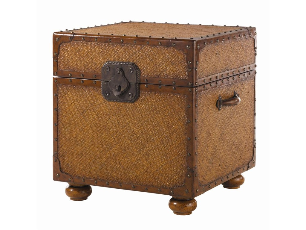 tommy bahama home island estate woven east cove trunk end table products lexington brands color accent estateeast round tablecloth for bedside tall counter distressed wood side
