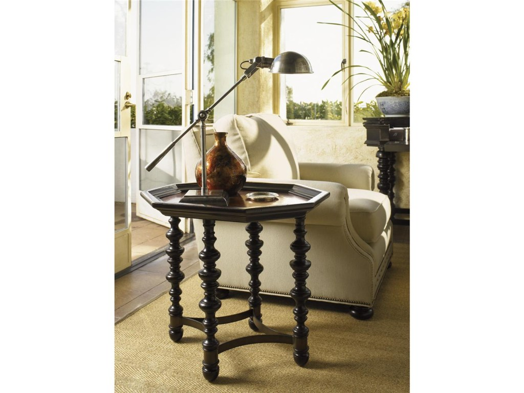 tommy bahama home kingstown octagon plantation accent table products lexington color woven metal kingstownplantation small white night pier coupons magnussen pinebrook end high