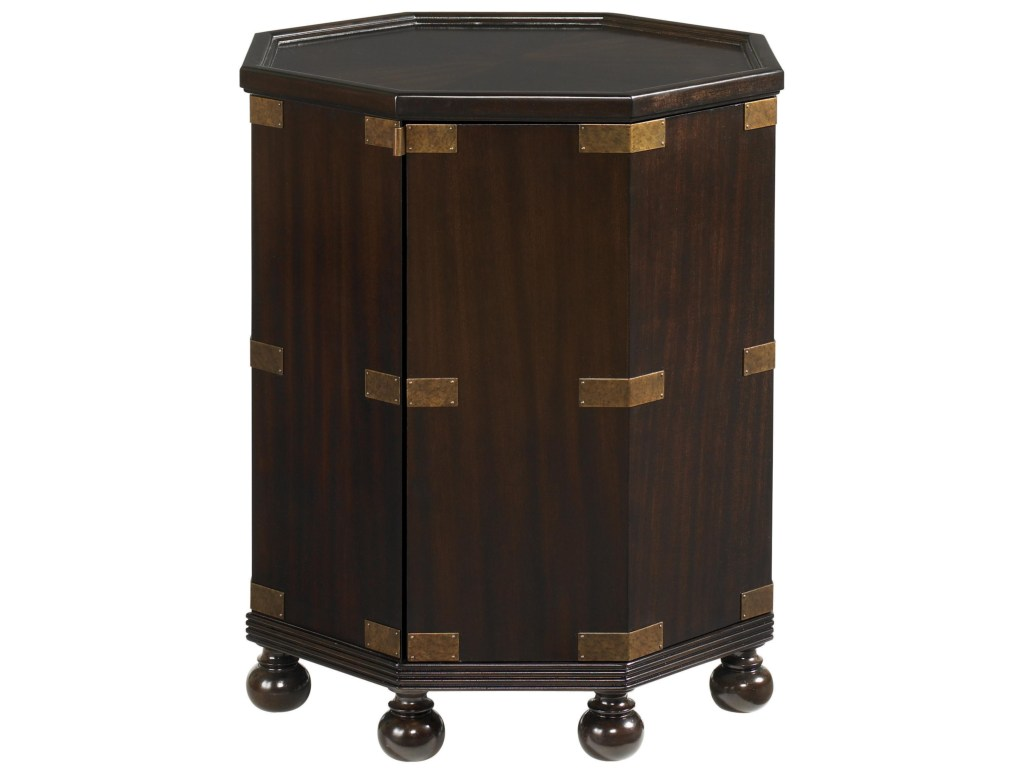 tommy bahama home royal kahala octagonal pacific campaign accent products color quatrefoil wood table kahalapacific oak mission end coffee sets coastal decor lamps purple