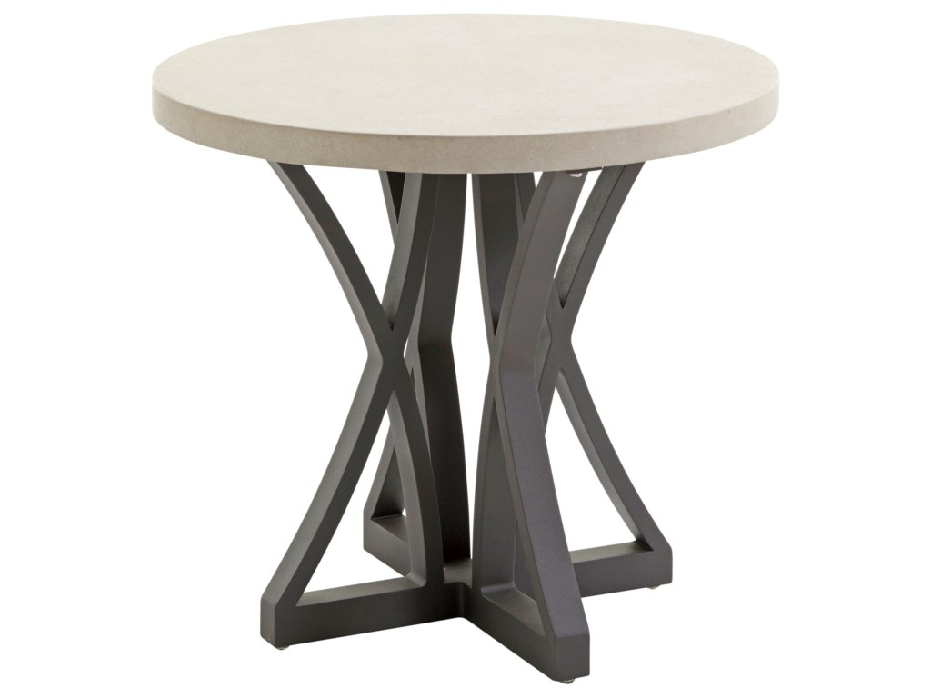 tommy bahama outdoor living cypress point ocean terrace products color side table gray terraceoutdoor with weatherstone top jcpenny bedding gold mirrored accent corner chests
