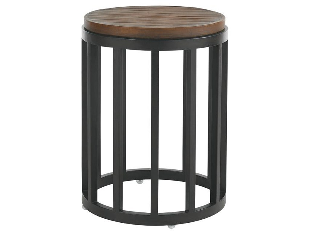 tommy bahama outdoor living ocean club pacifica weatherstone round products color wood accent table pacificaweatherstone silver sofa pie shaped end metal door threshold strips