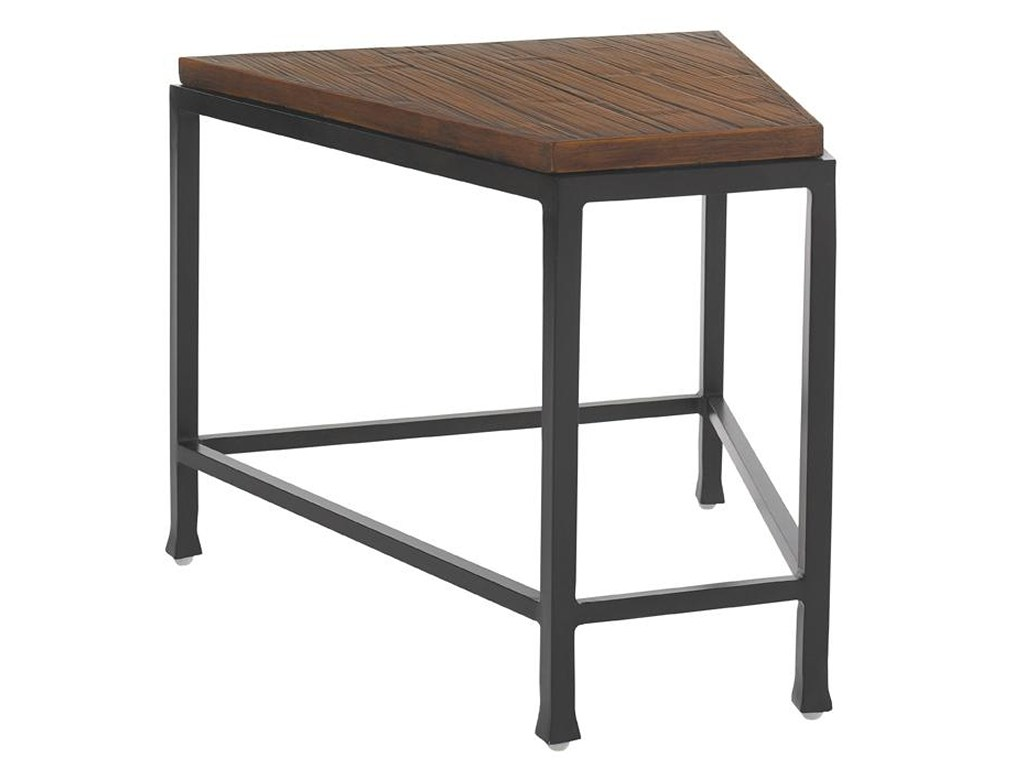 tommy bahama outdoor living ocean club pacifica wedge products color woven metal accent table threshold pacificawedge top woodbury fire pit dark end tables small corner ikea gray
