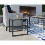 tommy hilfiger hampton outdoor side table with pebbled glass natural gray and chairs free shipping today folding patio round oak coffee small dining leaf egg chair bunnings 150x150