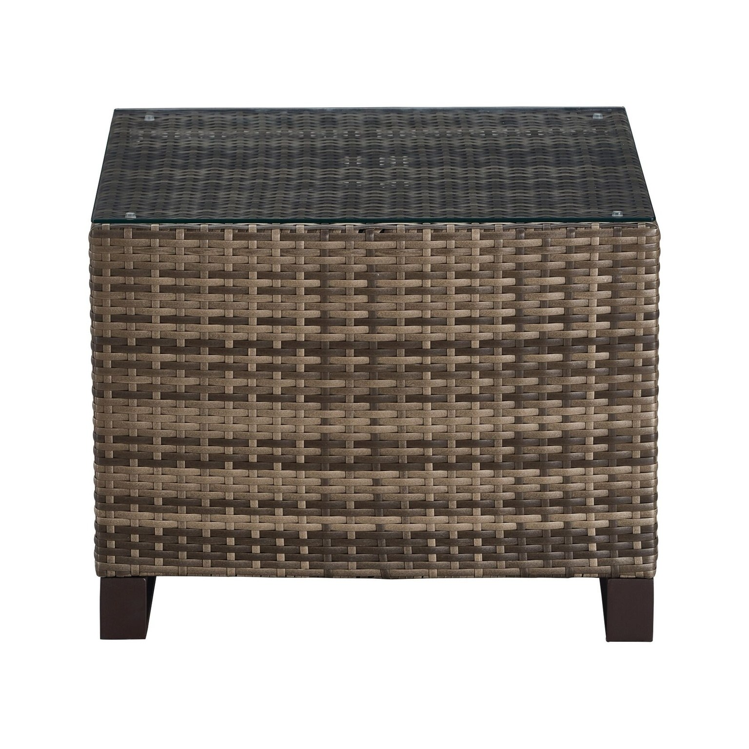 tommy hilfiger oceanside outdoor side table with storage gray coastal wicker accent free shipping today grey dining room black and white small thin coffee vintage brass west elm