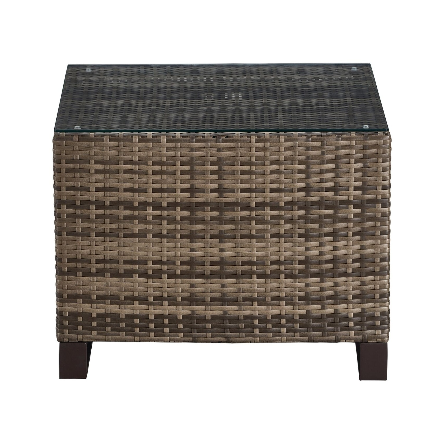 tommy hilfiger oceanside outdoor side table with storage gray coastal wicker free shipping today black and white bedside lamps marble top end tables antique acrylic nightstand