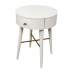top superb round nightstand with drawer narrow accent table black bedside small end design pier one glass tops and metal coffee entryway storage white marble silver pet clothes 150x150