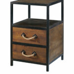 topanga brown accent table black end with lamp attached european furniture dining decor room top tall skinny nightstand target patio low glass coffee modern style lamps woodard 150x150