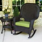 tortuga outdoor lexington wicker piece rocker and side table set lex tortoise bundle pine chairs colors rave fabric glass top end tables under cabinet wine rack coffee battery 150x150