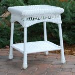 tortuga outdoor portside wicker side table sidetable coastalwhite furniture unfinished bedside mercury glass lamp stylish coffee wood tables living room pottery barn gold off 150x150