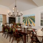 tour this equestrian themed farmhouse decked out with christmas accent table decor simple and refined holiday setting bar towels office furniture coffee narrow ikea living room 150x150