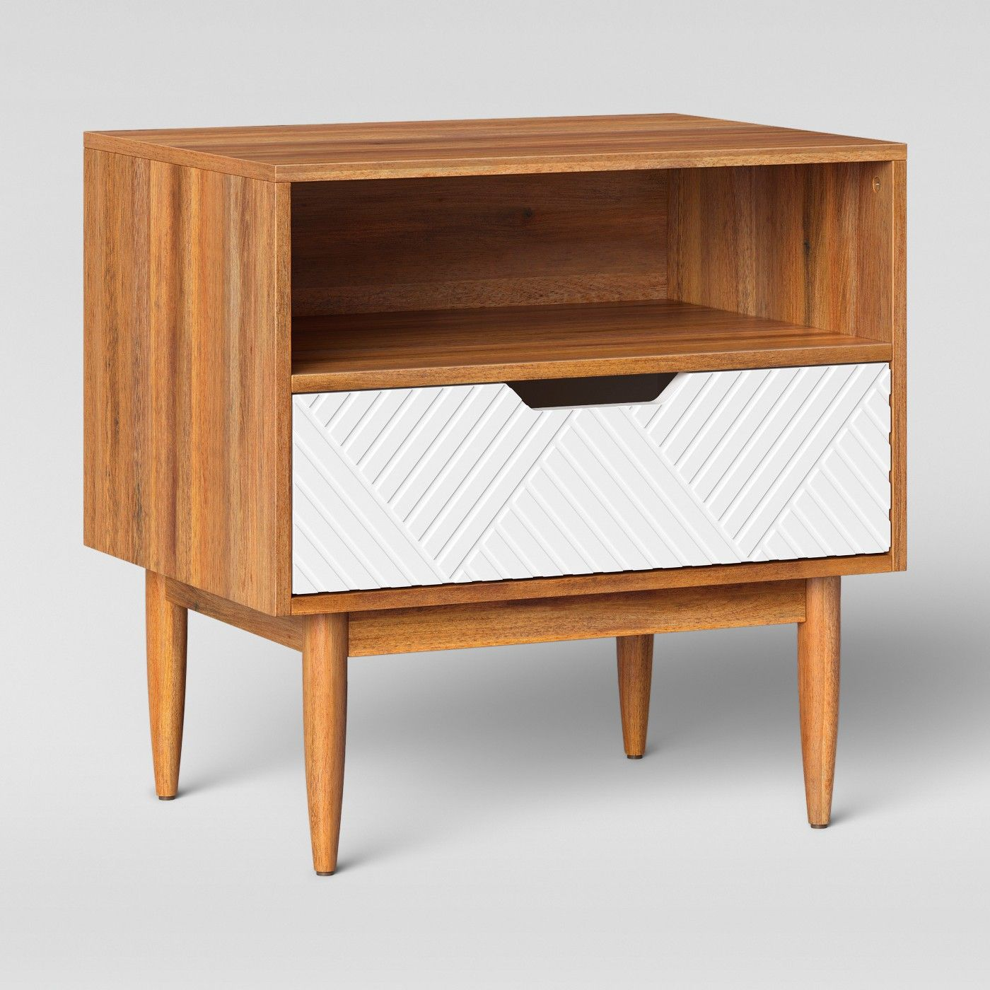 touraco nightstand white brown opalhouse interior design timor wood trunk accent table runner small short solid farmhouse outdoor side extra wide door threshold bars montrez gold