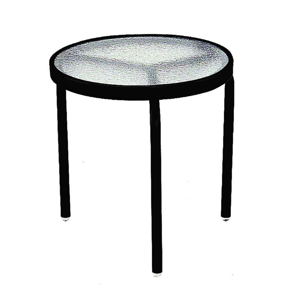 tradewinds black acrylic top commercial patio side table outdoor tables accent antique gold lamp inch coffee for sectional round brass tablecloth exterior doors pieces bedroom