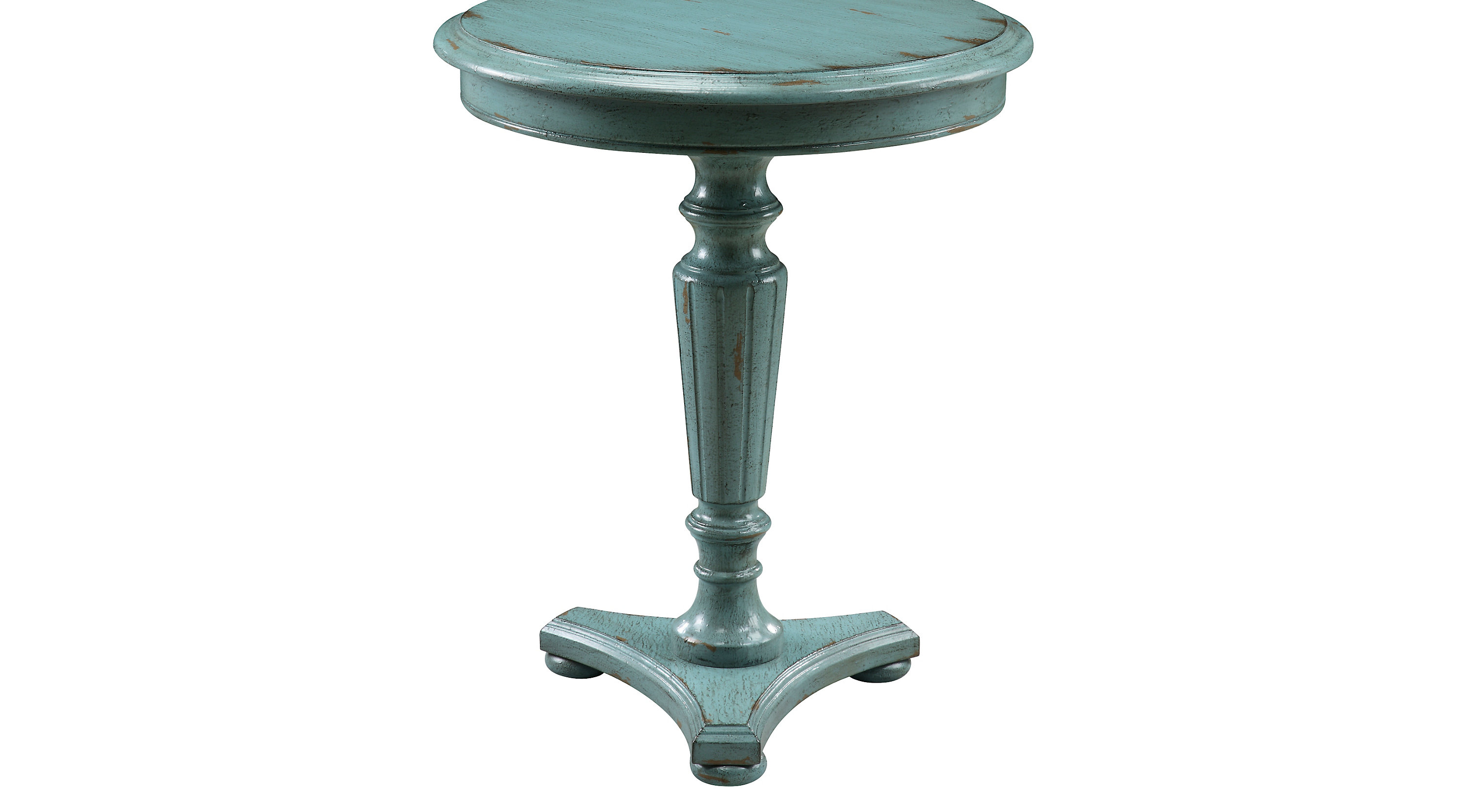 traditional accent tables classic side table styles nunnelly blue tipton round drinking glass sets cordless lamps pottery barn bright colored chairs mahogany industrial coffee uma
