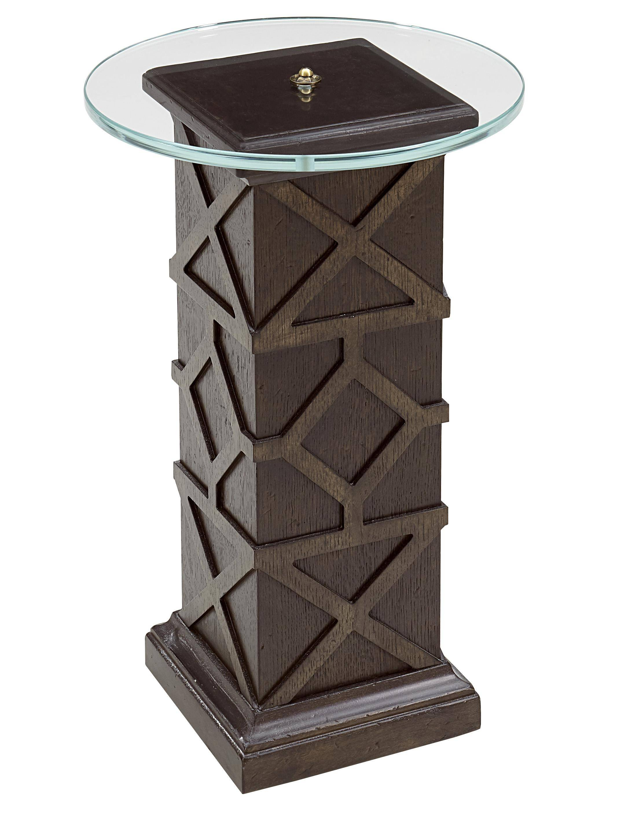 traditional brown accent table american chapter reviews small patio and chairs dining decor unfinished legs coffee sets target high bar kitchen black end with lamp attached