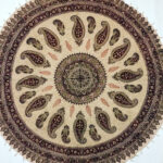 traditional inches round table cloth hand block printed cotton fullxfull tablecloth for inch accent tapestry natural dyes with tassels mandala pub height and chairs best furniture 150x150