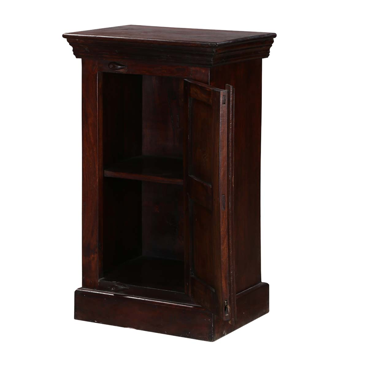 traditional shaker mango wood nightstand end table cabinet mid bengal manor twist accent side set slim sofa round mosaic outdoor high dining room sets occasional cabinets and
