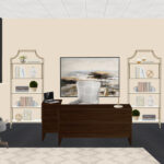 transitional office design havenly interior designer linlee mawr metal accent table final curved console white marble coffee clearance tables nesting toronto small and chair set 150x150