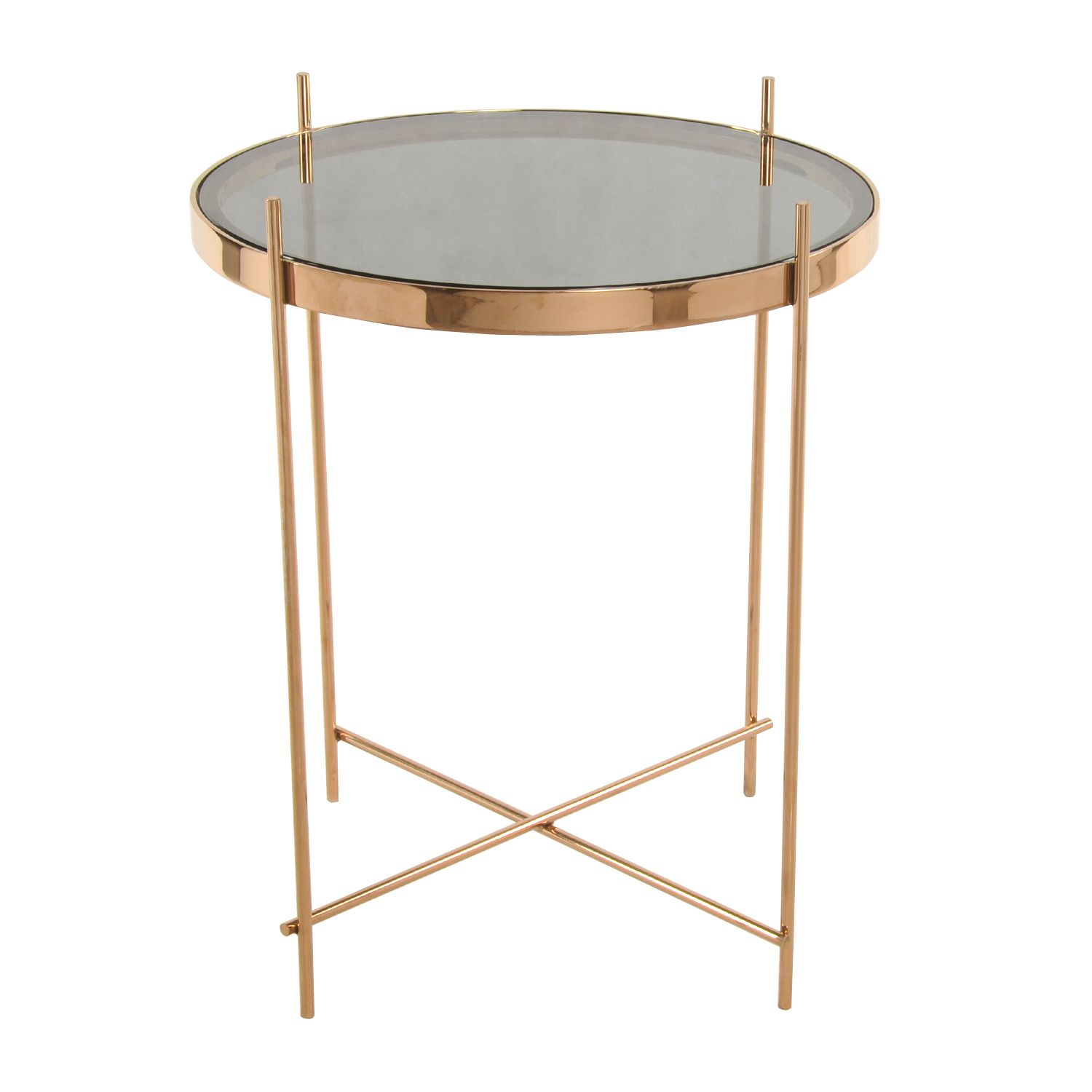 travan end table smoke glass top rose gold quick accent mirror side brass nest tables bunnings patio furniture wire target heavy duty umbrella stand corner lamps contemporary