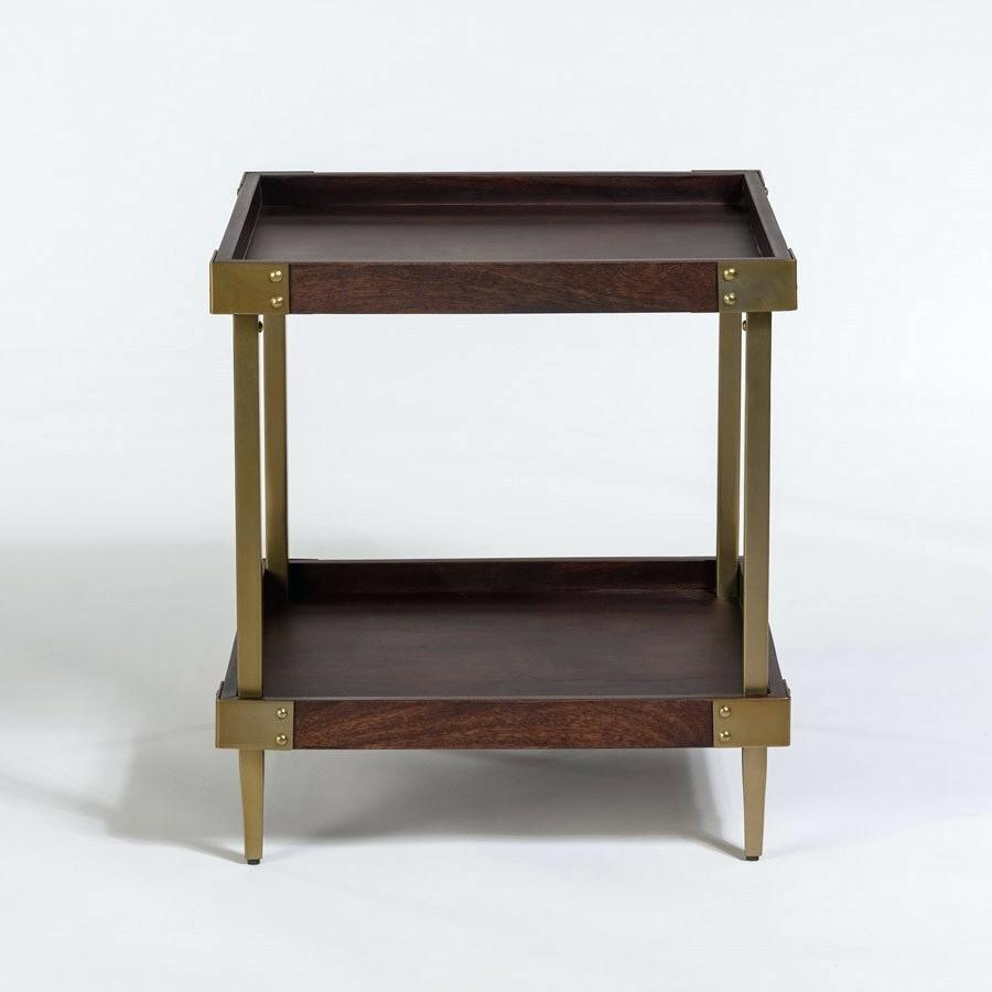 tray top end table privilege round accent featuring wood alder tweed avenue square with brown snack spindle pier imports patio furniture pottery barn dresser home decor art small