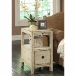 treasure trove accents southern shores sand one drawer accent table barnwood dining target kindle fire bedroom design contemporary marble coffee bathroom furniture round metal 150x150