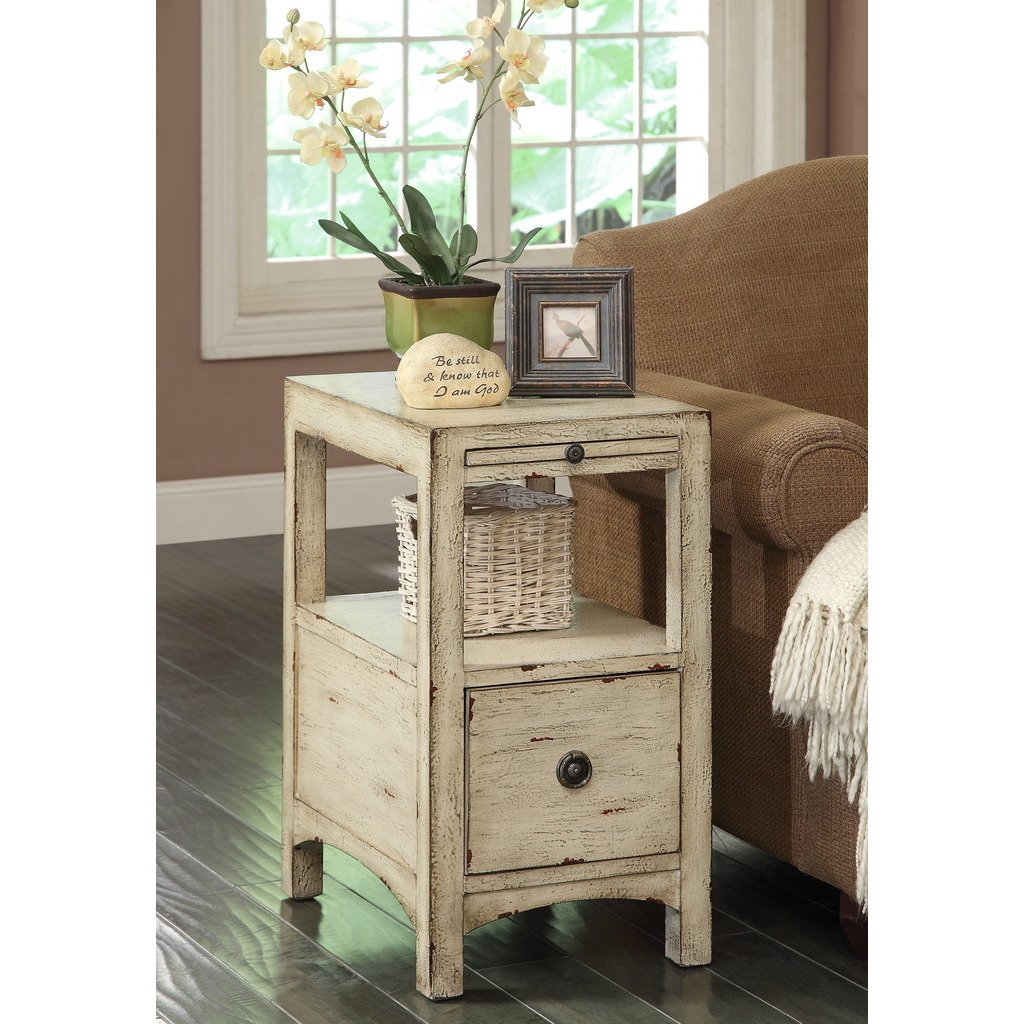 treasure trove accents southern shores sand one drawer accent table barnwood dining target kindle fire bedroom design contemporary marble coffee bathroom furniture round metal