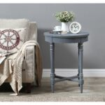 treasure trove small accent table free shipping today silver wood drum end glass top vintage cane garden furniture diy marble coffee metal legs box frame battery operated led 150x150