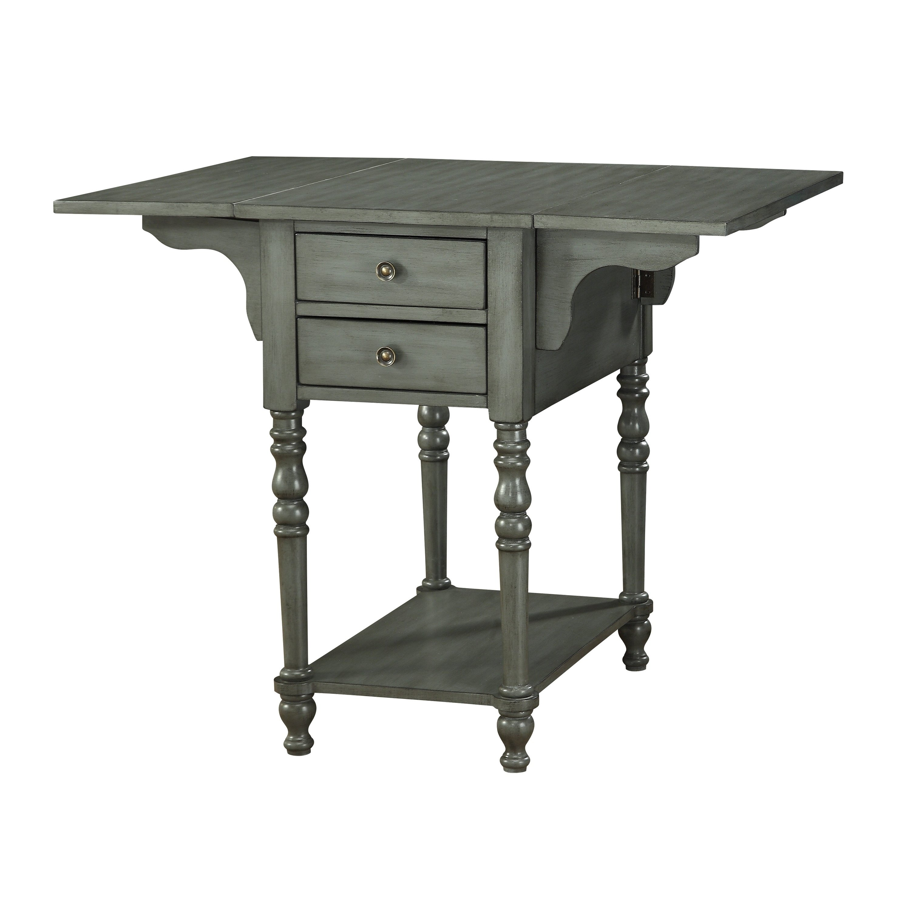 treasure trove small drop leaf drawer accent table free grey shipping today armchairs for living room ashley furniture trunk coffee wood top ideas outdoor dining with umbrella