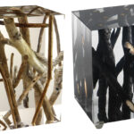 tree inspired furniture stunning designs driftwood branches acrylic side tables michael dawkins wood log accent table view gallery black nest ikea chinese style lamps faux marble 150x150