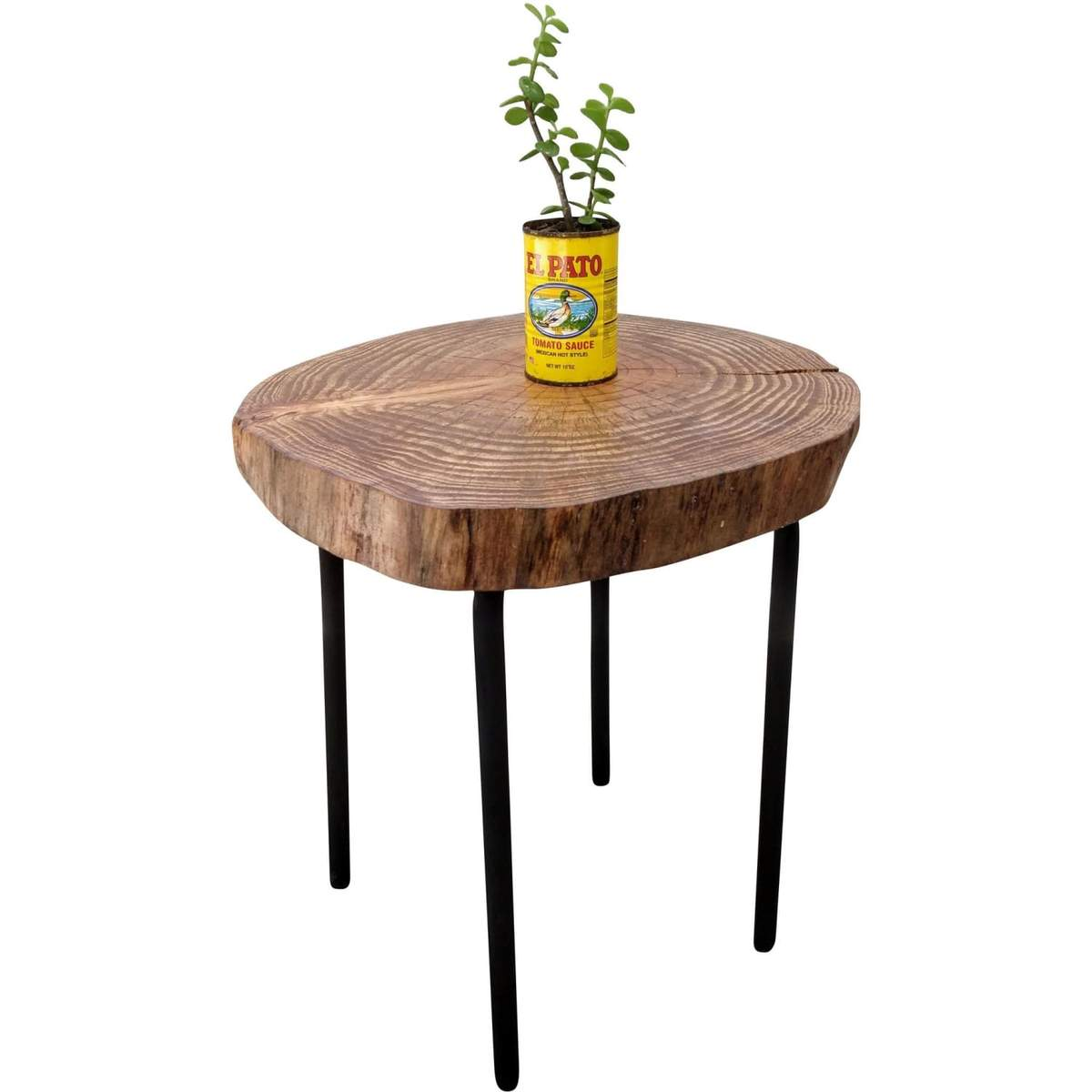 tree log accent table rustics wood white folding outdoor side farm dining set chinese bedside lamps fire pit antique tall brass frame coffee modern occasional tables entryway
