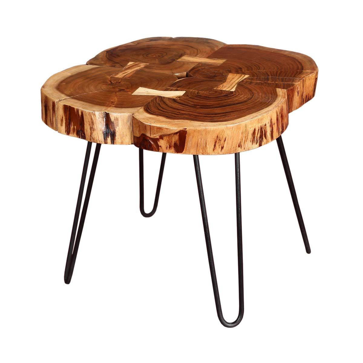 tree rings rosewood iron accent end table grey coffee dark brown set counter height sofa ikea floating shelves white living room chairs rechargeable lamps for home outdoor grill