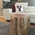 tree stump end table new natural pine accent fresh cool trunk coffee informer related post portable shade umbrella sauder harbor view french antique furniture unique tables and 150x150