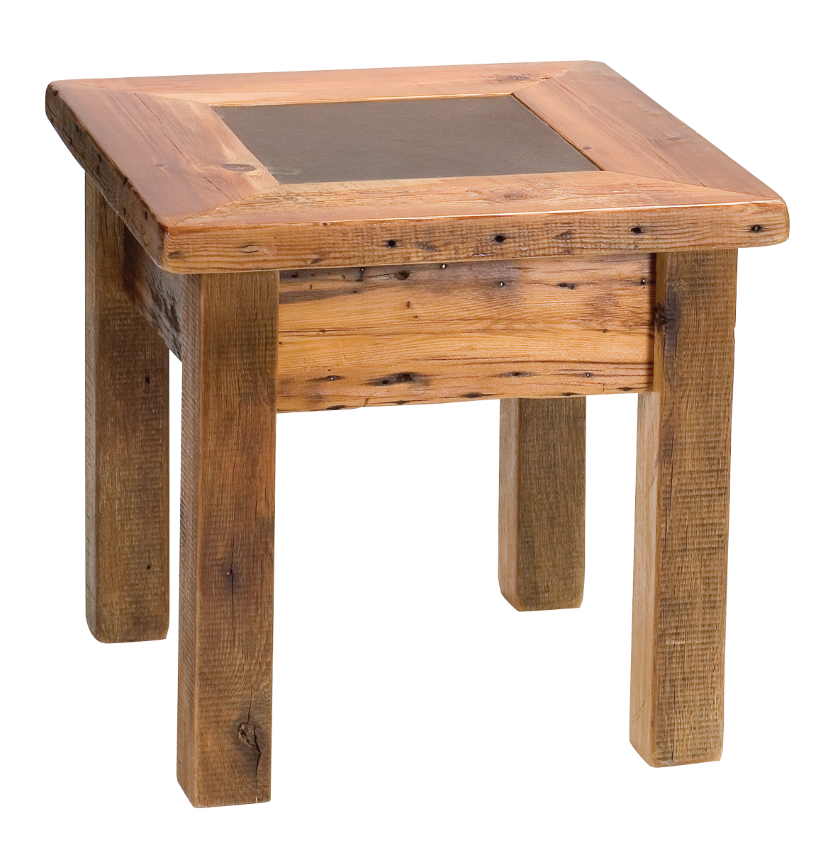 tree stump seats probably super real rustic wood end tables idea sierra table furniture mall timber creek sierraendtable frosted glass mirrored nightstands small outside and