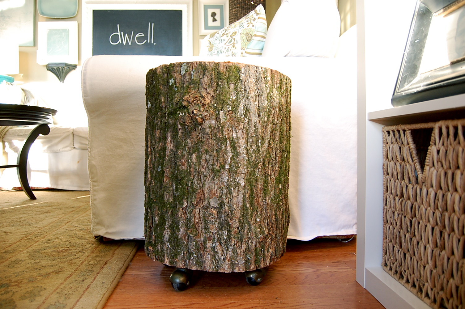 tree stump table wheel fossil brewing design curious wood accent white patio silver grey lamps black cube end battery operated touch mid century modern dining multi colored coffee