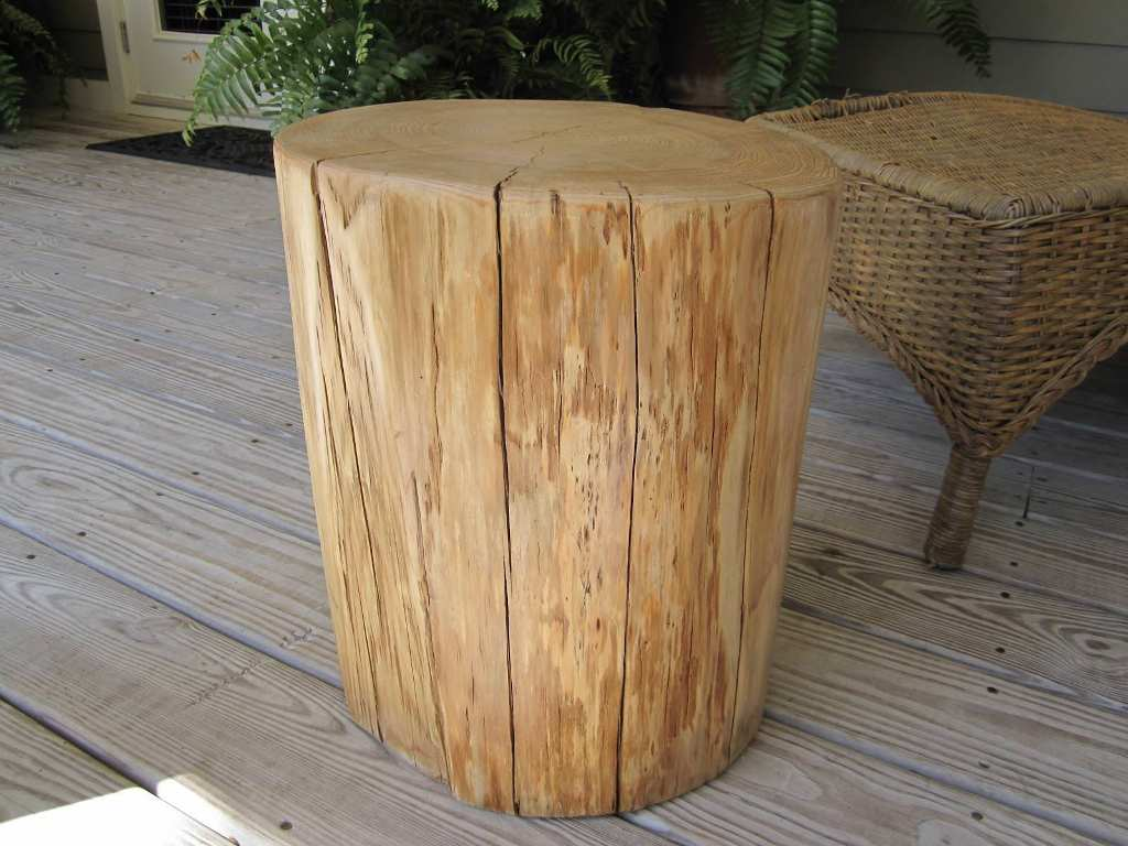 tree stump table with beautiful design elegant home end wood accent small lucite coffee yellow patio umbrella wooden wine racks outside and chairs battery operated touch lamps