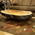 tree trunk coffee table base drift wood stumps acrylic accent glass dining cream kitchen and chairs stone gold frame west elm shades yellow home decor rectangle cloth tablecloths 150x150